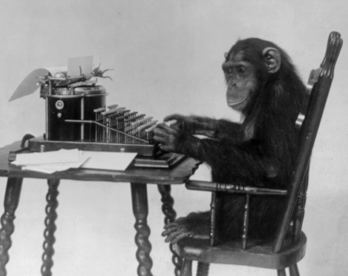 chimpanzee_seated_at_typewriter